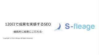 株式会社エスフレイジのSEO