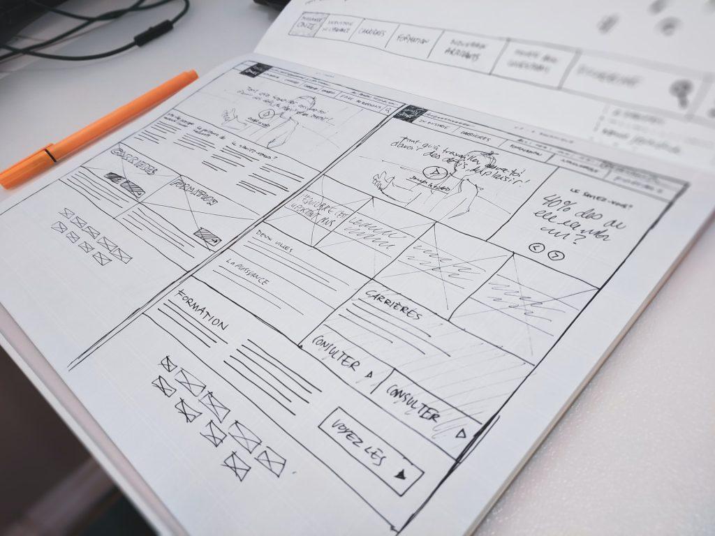 BtoB web制作 デザインフレーム